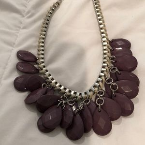 New beaded silvet necklace